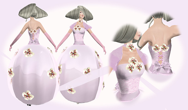 *Bridal Dress Pink*