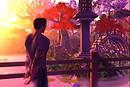 Japanese Garden - Raul Crimson