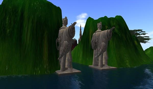 Second Life adventure sims