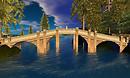 Bridge - Sim Crossing in Misty Mountains