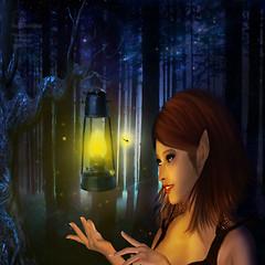 fairyforest -firefly- flashlight
