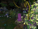 Serenity falls Little dragon garden candlelit path