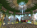 serenity falls pixie light garden gazebo