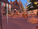 Serenity falls SL Christmas card Reindeer