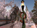 Serenity falls SL Christmas card