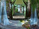 Serenity falls Treehouse bedroom waterfall