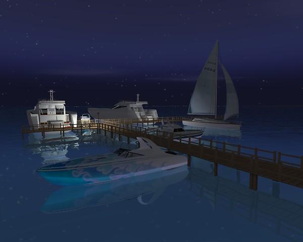 Virtual Miami Sailboats