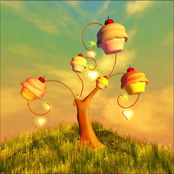 .:it's Cake:. Cupcake Tree