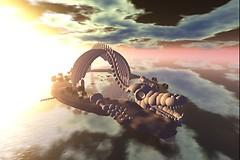 The Leviathan skeleton - Raul Crimson
