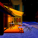 The Café Terrace on the Place du Forum, Arles, at Nigh