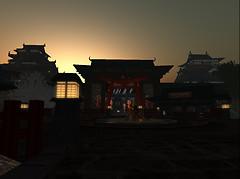 Dawn before a battle