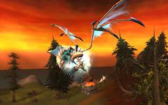 Anthigone on an ice dragon