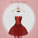 *Red Cherry* Little Dress