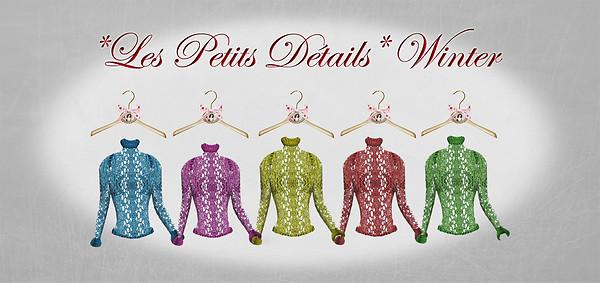 *Les Petits Détails* Winter Sweater