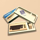 now we're playing with power... Commodore 64 retro gaming awesome - Torley Linden