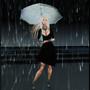 Goldy Hawn singing in the rain