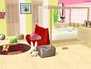 sara white's bed room