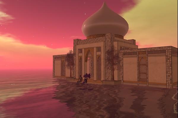 Where it was a bazaar... - Raul Crimson