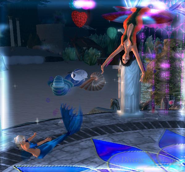 Jasperr & Laconia Dancing @ MerStar Ballroom, Mermaids of the Mist