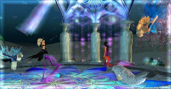 Everyone Dancing @ MerStar Ballroom Mermaids of the Mist