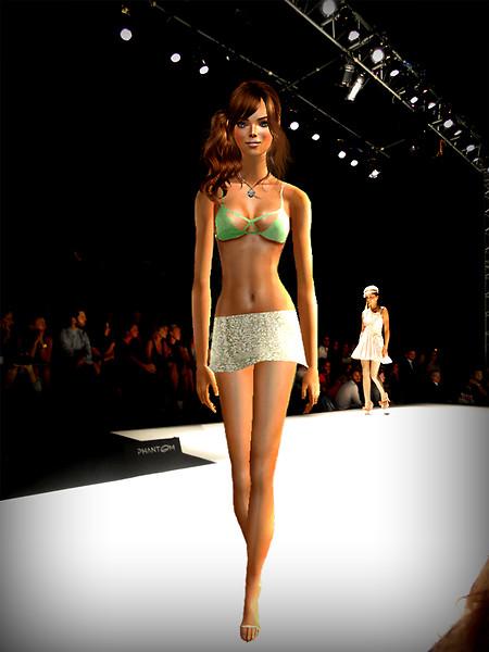 Sabrina fashion catwalk