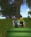 My pregnant avatar! - Parcadia Violet
