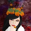 Pumpkin field on your head