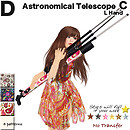 Astronomical Telescope C for DUnltd.19
