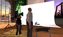 Meerkat and Shoji meeting at Shoji's Studios
