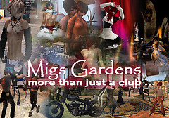 The New Sign of Mig's Gardens