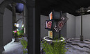 07 Art Gallery Sayopiyo in Rhizome Entrance wagasa 1