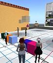 building squares - Parcadia Violet