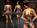 The Naughty nurse costume set 001