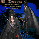 My Version of -El Zorro- costume w skin -shape 03