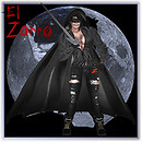 My Version of -El Zorro- costume w skin -shape 01