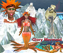 GLORY MERMAID COUSTOME SET W SKIN_014