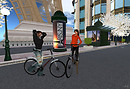 Paris NY oct 7 2010_riding bike F