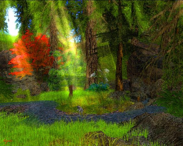 Autumn forest diadem