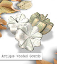 Free Gift: antique wooden gourds by insight designs