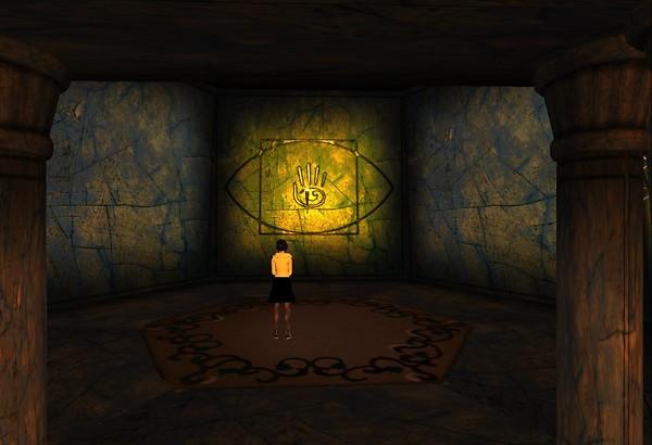 Svarga has mysterious spaces... - Chimera Cosmos