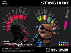 [NeurolaB Inc.] Sting hair_ v1.0_vendor