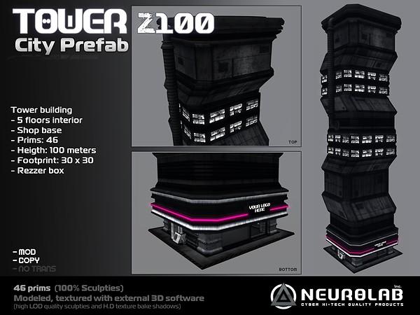 [Neurolab Inc.] Tower Z100 city prefab 2010_vendor