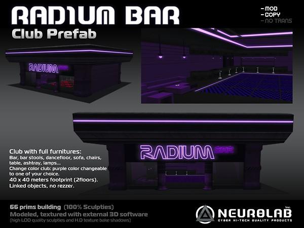 [Neurolab Inc.] radium club prefab 2010_vendor