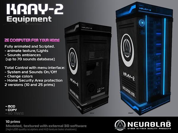 [Neurolab Inc.] Kray-2 2010_vendor