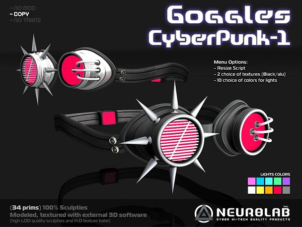 [Neurolab Inc.] Goggles CyberPunk-1_vendor_1