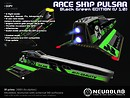 [Neurolab Inc] Race Ship Pulsar (black-green) v1.0.95 vendor