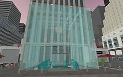 Apple building, New York