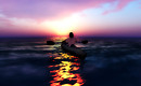 Sea Kayaking At Sunset_023