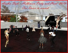 Halloween Party and Hunt at Anubis Style