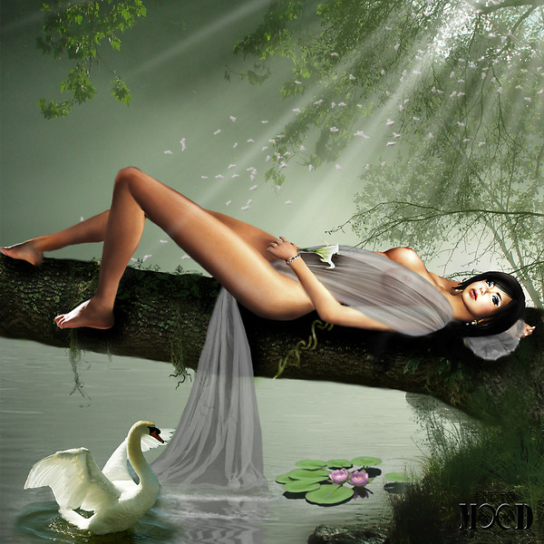 Diana and the swan